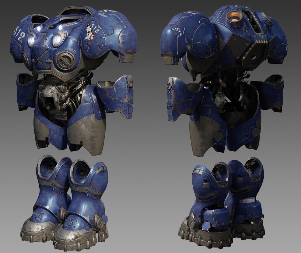 StarCraft 2 Terran Marine