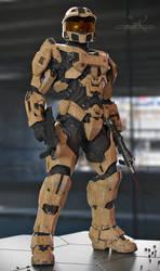 Master Chief - Desert Scheme by SgtHK