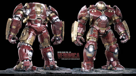 Iron Man Mk. 44 - Veronica (a.k.a. the Hulkbuster) by SgtHK