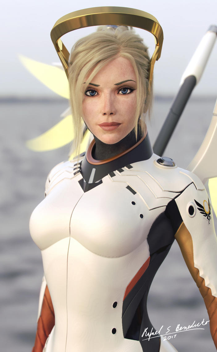 Overwatch - MERCY (2) by SgtHK