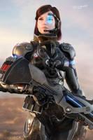 Commander Shepard by SgtHK