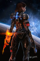 Commander Shepard - Into the Void by SgtHK