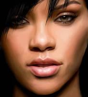 Rihanna by nakusta