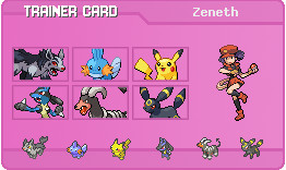 My trainer card by LilAngel0913