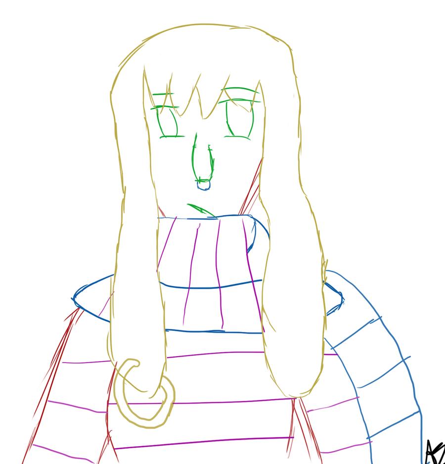 Free Sketch 1 - Bunny by LilAngel0913