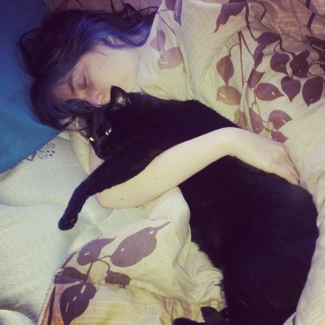 I love my cat by LilAngel0913
