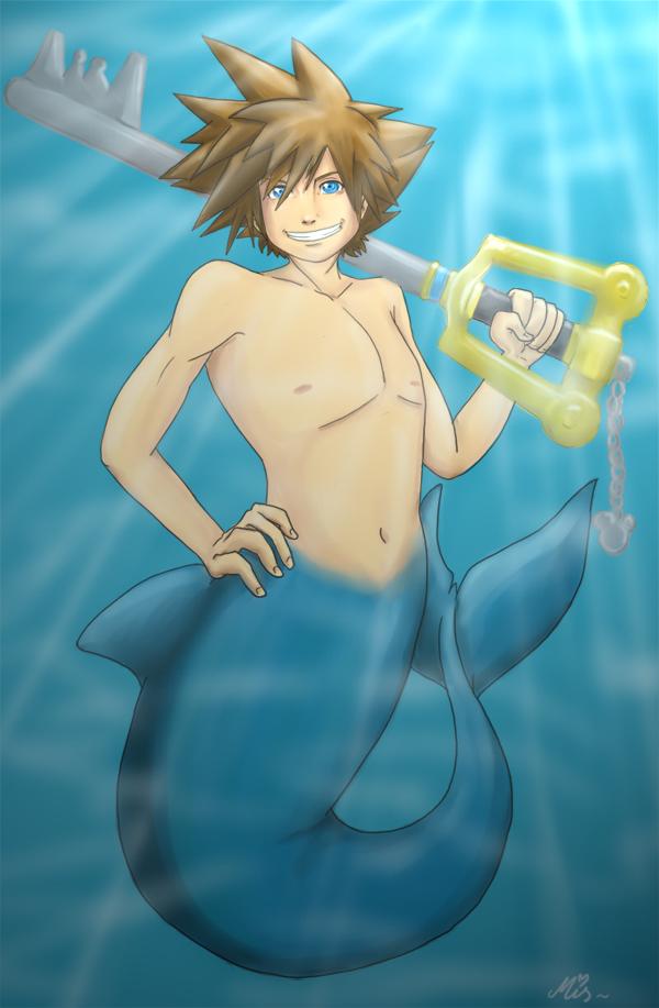 Merman Sora by Mispeled