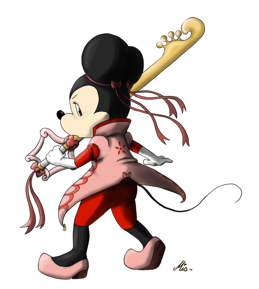 Queen Minnie the Keyblade Wielder by Mispeled