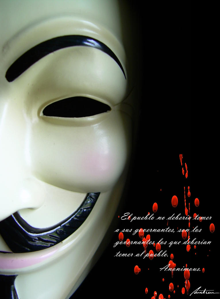 anonymous by VespaChis