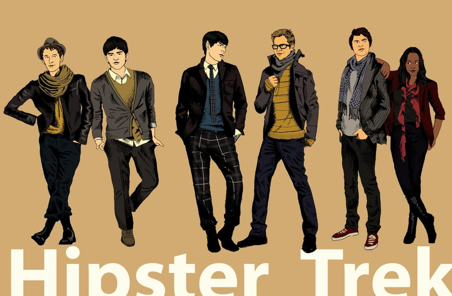 Hipster Trek by deliciousnewyork