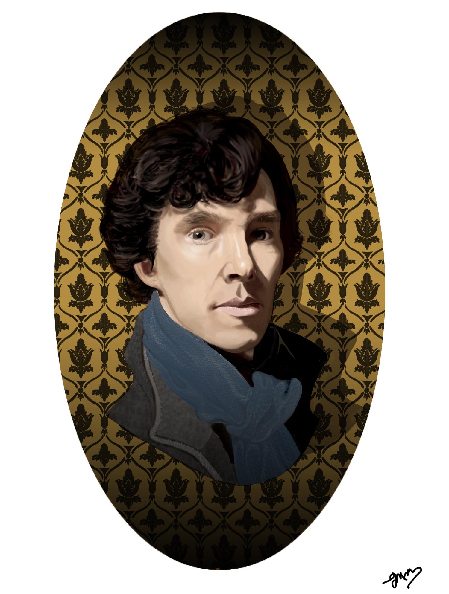 Sherlock Holmes by MickEMac