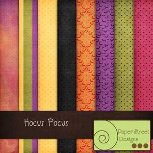 Hocus Pocus-paper street