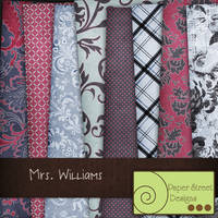 mrs williams--paper street designs by paperstreetdesigns