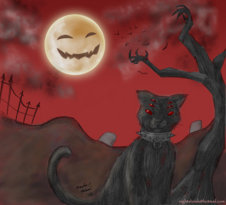 Evil Kitty by NeuroticCrow