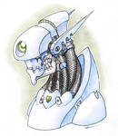 Badass robot head 03 JESTER