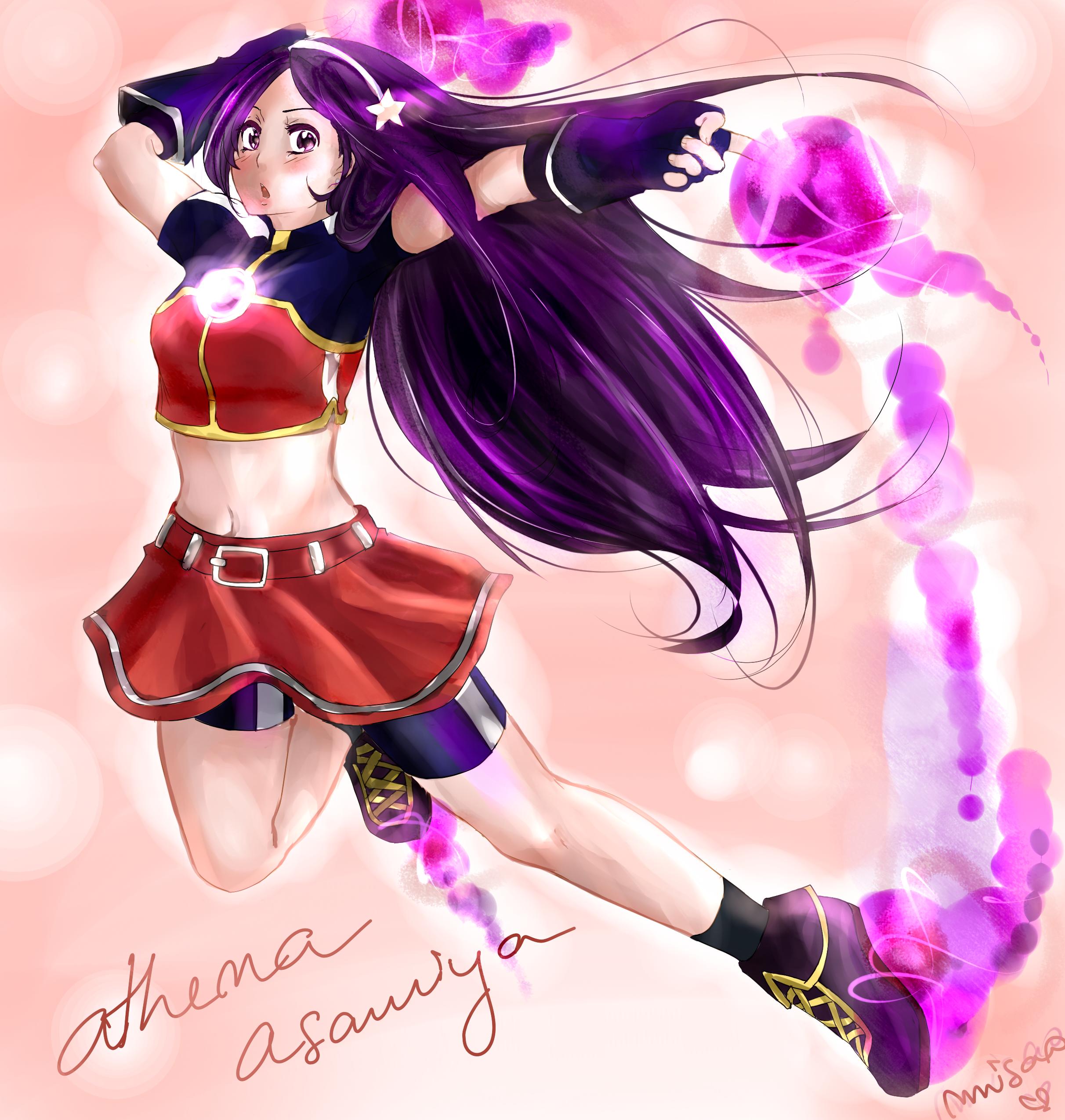 Athena KOF 2002 by Misao02