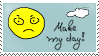 dA-stamp Make my day ... by palmouth