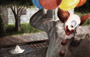 Stephen King's It, Pennywise the clown