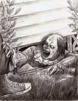 Stephen King's It, Leper under the porch by tboersner