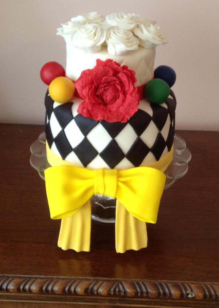 Noah's Ark Circus Cake by RandomShadowPerson