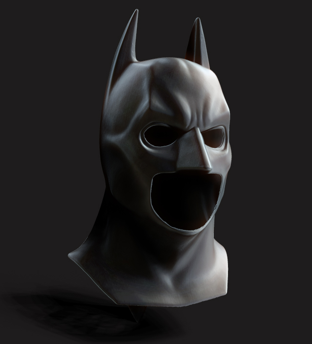Batman Begins cowl by alexanderstojanov