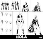 Nola Character Design