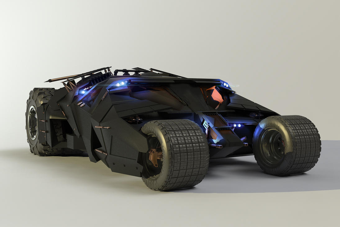 The Tumbler Zbrush by alexanderstojanov