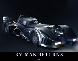 1989 Batmobile by alexanderstojanov