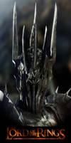 Sauron Zbrush Portrait
