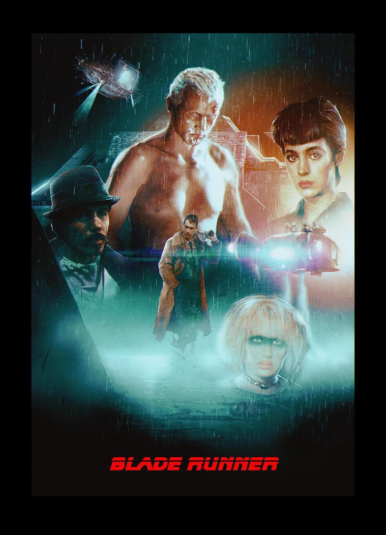 Blade runner poster by alexanderstojanov