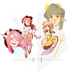 Mythical Ladies [AUCTION] [CLOSED]