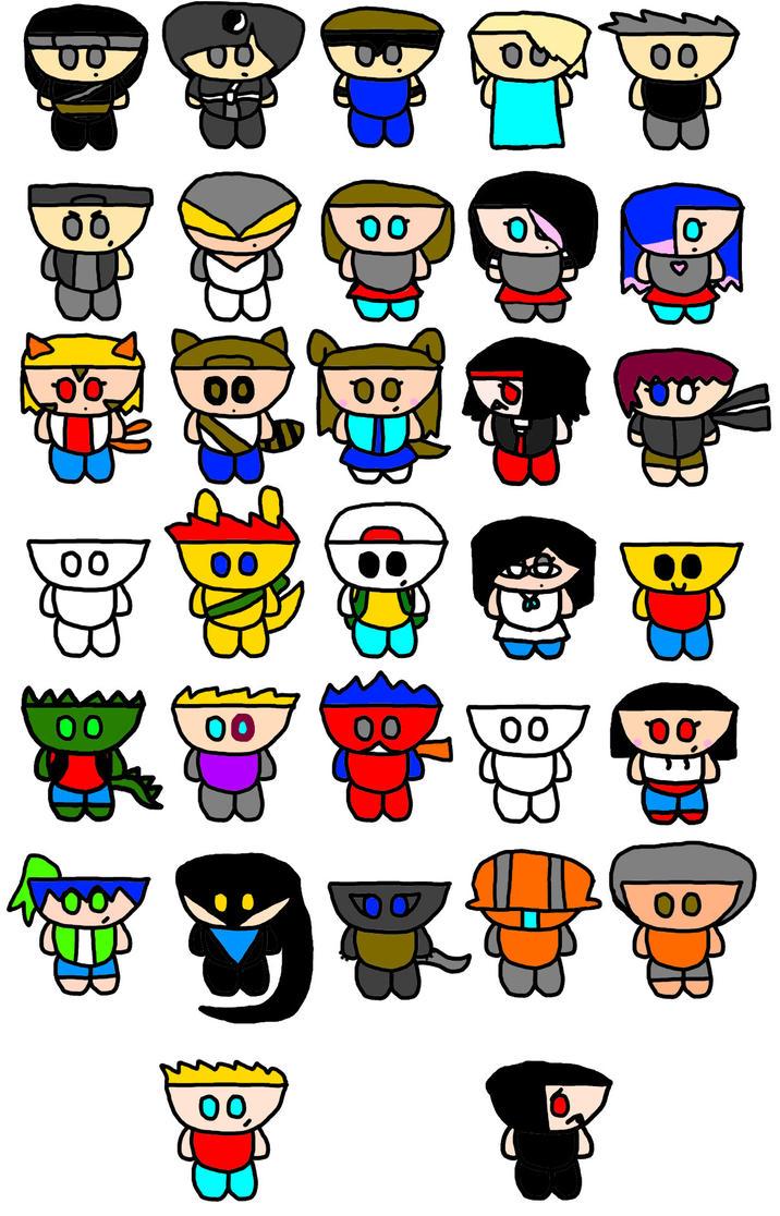 Doodle Wars (Dimension Wars Characters) by Doodletones