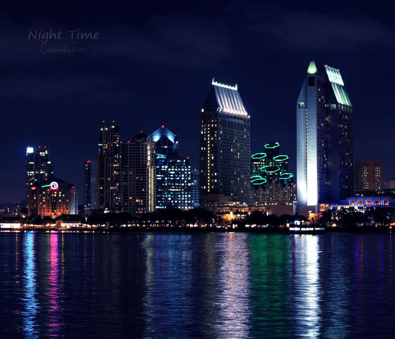 Night Time by creativemikey