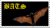 Bats rule stamp by living-bones