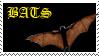 Bats rule stamp by living-bones