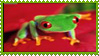 Frog stamp by living-bones