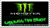 Monster energy drink stamp by living-bones