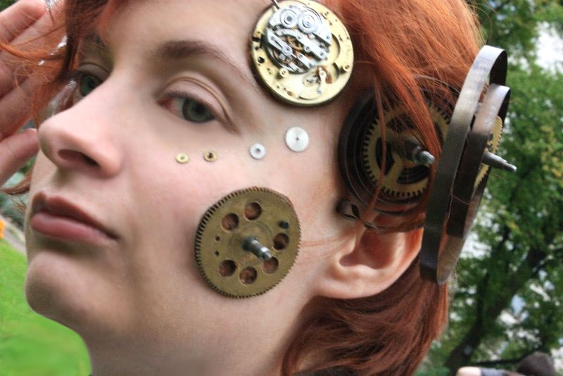 Steampunk: Close-up by cayra