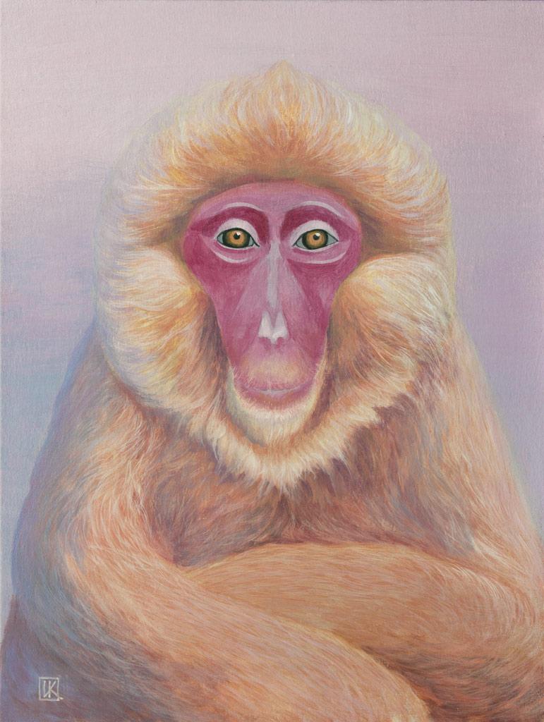 The Portrait monkey by Ivan-Kovalevskiy