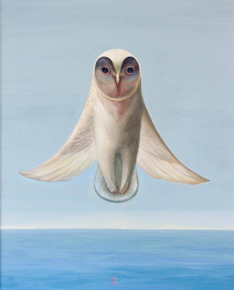 The Owl by Ivan-Kovalevskiy