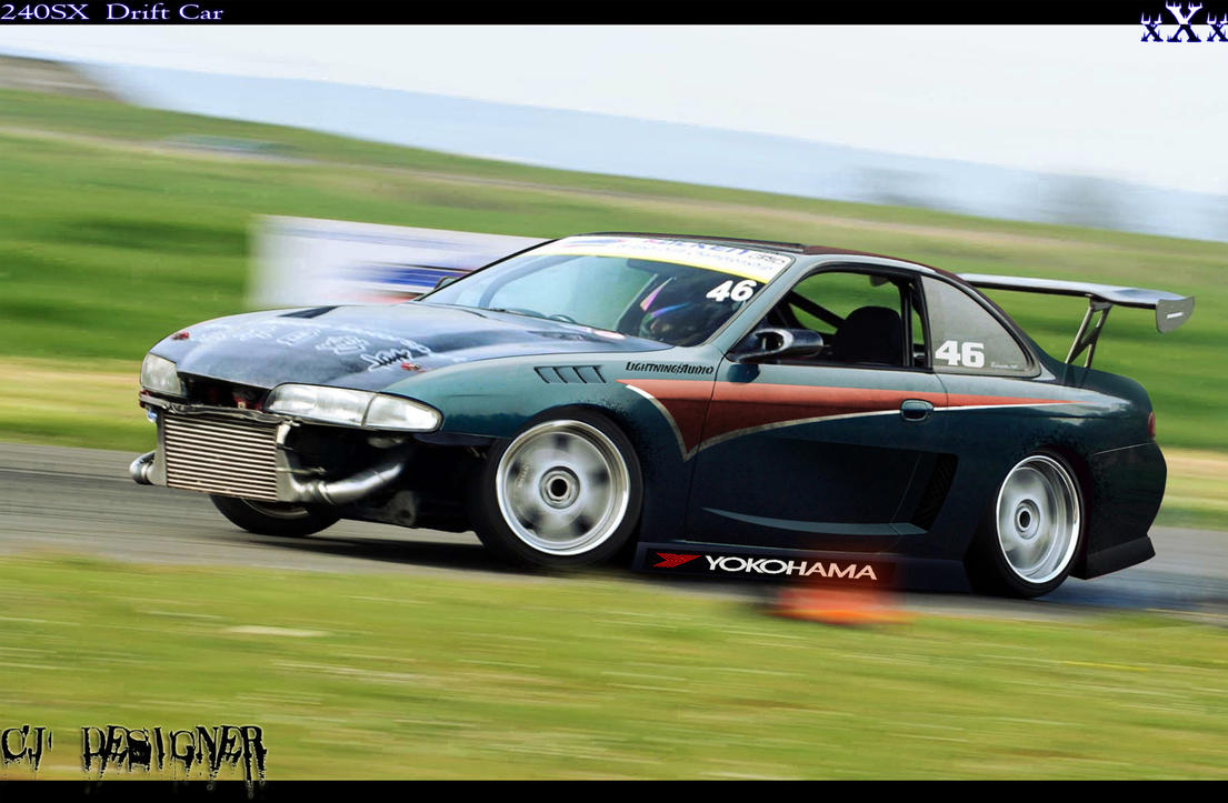 240SX Drift car by cjdesigner Images - Frompo