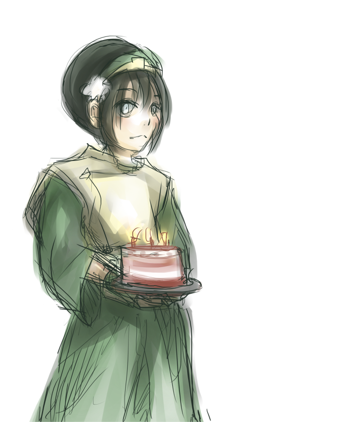 Birthday Toph by shattercrack