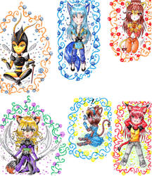 .:Chibi Collection:. by ReijiNoHana