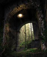 Decayed Hallway by GabrielReid