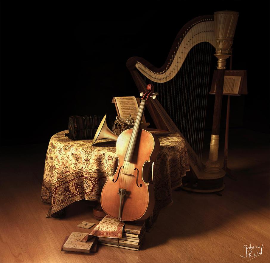 Musical Still life by GabrielReid
