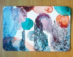 Abstract Geometric Postcard II