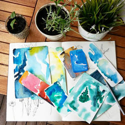 Watercolors!