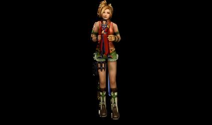 Rikku's Doll by ChocoboQueen