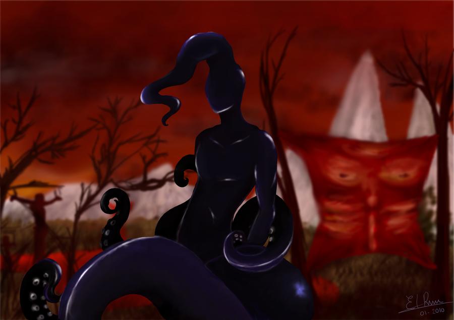 Nyarlathotep by Amazonne