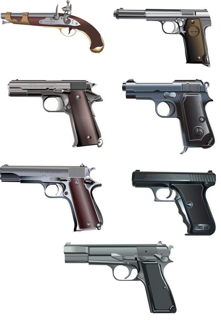 Evolucion de las armas by darkans on deviantart - Pistolas para lacar ...